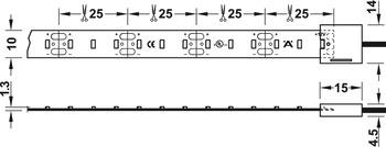 Led-nauha 5 m rulla, 9,6w/metri, 4000K (CW AB-G 73491)