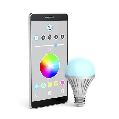 Kaukosäädettävät LED tuotteet