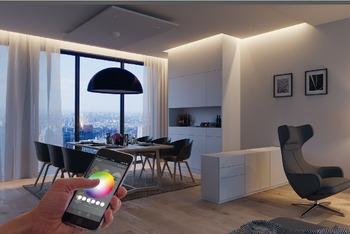 LED-valojen ohjausyksikkö 12V/24V älypuhelimeen tai tablettiin