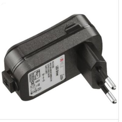 LED-valaisin, taipuisa varsi + USB-liitin (kromi)