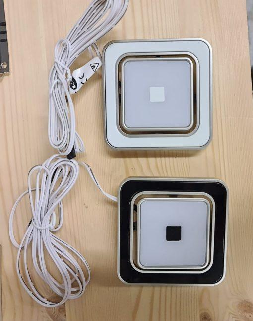 Kääntyvä kalustevalaisin 70mm reikään valkoinen AB-G 00381 2,5W / 12V ei sisällä muuntajaa